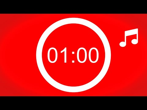 Cronômetro de 60 segundos ⏰ com música ♫