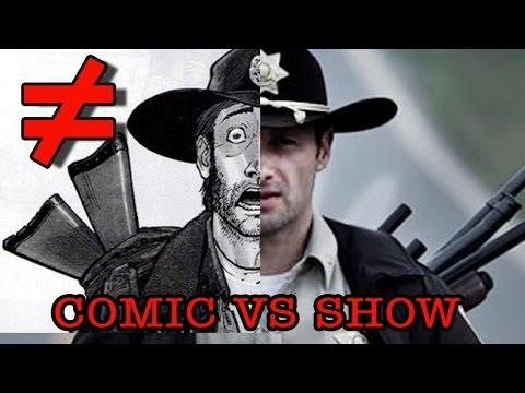 the walking dead - differenze tra il fumetto e la serie tv