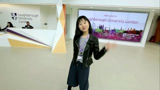 One of our students takes you on a tour around Loughborough University London
