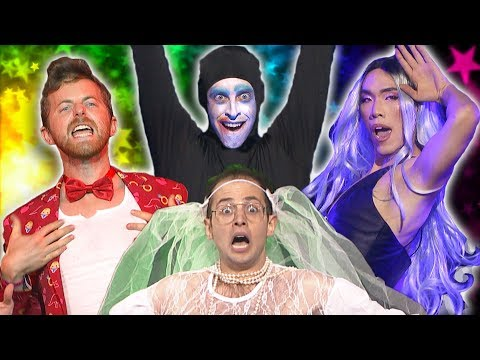 The Try Guys Lip Sync Battle Drag Queens