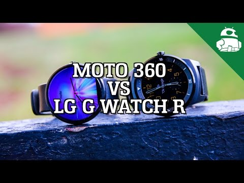 R - Moto 360 vs LG G Watch R - two of the hottest smartwatches on the market. See them compared! http://goo.gl/Vh5GRB Talk about Android in our forums: http://www.androidauthority.com/community...