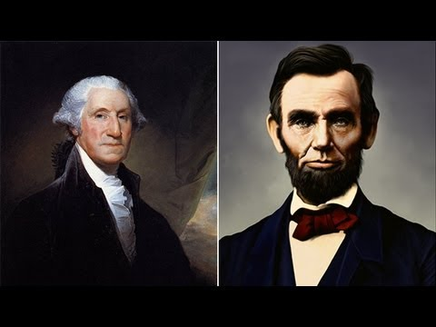 Presidents' Day 2012: George Washington vs. Abraham Lincoln
