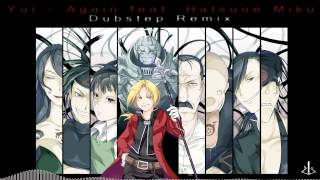 Download Lagu YUI - Again feat. Hatsune Miku - Dubstep [ dj-Jo Remix ] Mp3