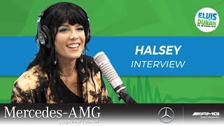 Halsey Surprising BTS Made Her Feel Awesome  Elvis Duran Show
