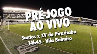Acompanhe ao vivo, diretamente da Vila Belmiro, o aquecimento para a partida entre Santos e XV de Piracicaba, pelas quartas...