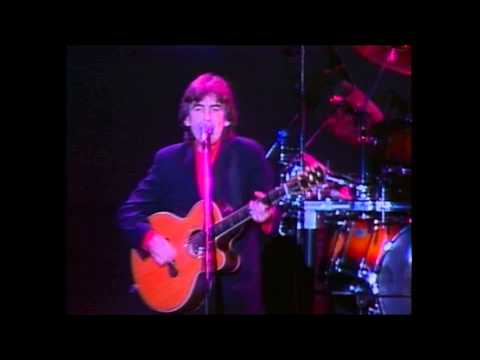 Harrison - Live performance of Give Me Love (Give Me Peace On Earth), performed in Japan, 1991. The track was originally released in 1973, taken from the album Living In The Material World. http://www.george...