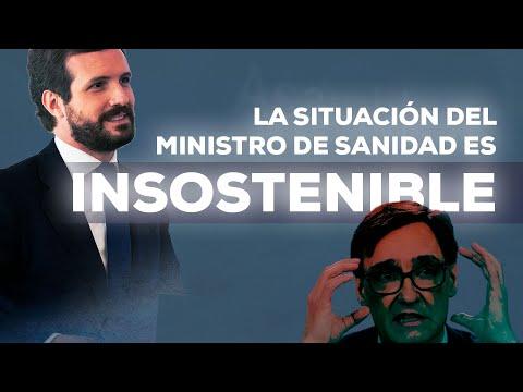 La situación del ministro de Sanidad es insostenible