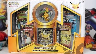 Opening A Pokemon Red & Blue Pikachu EX Box!!! by Unlisted Leaf