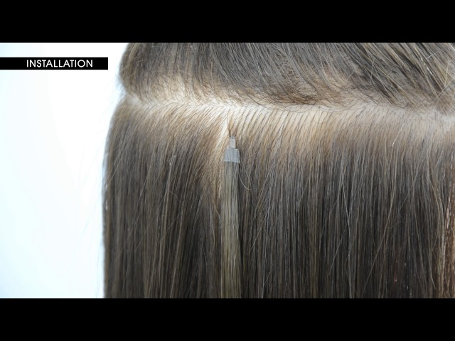 How To Install Y Tip Hair Extensions By Le Prive Sport Videos