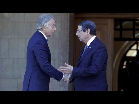 Κύπρος: Συνάντηση Αναστασιάδη – Μπλαιρ