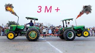 Tractor Tochan Johndeere 5310 vs Johndeere 5310 tractor pull