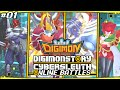 Digimon Story  Cyber Sleuth Online Battles 1  39  39 Data Squad Team 39  39