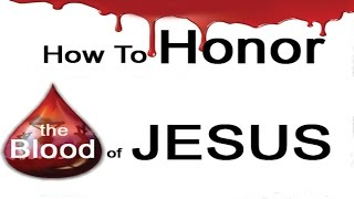 20170309 l KSM l Telugu l How to Honor the Blood of Jesus l Pas. Michael Fernandes