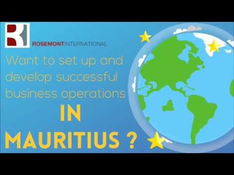 Mauritius company incorporation by Rosemont