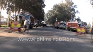 Kashipur India  city images : Driving from Kashipur to Thakurdwara