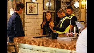 The Bistro is attacked, plus Toyah gets a boost to her IVF fund