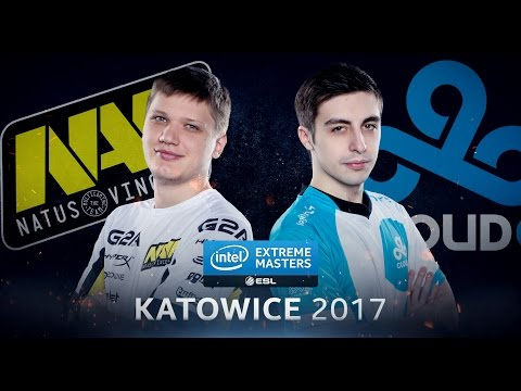 CS:GO - Na'Vi vs. Cloud9 [Mirage] - Group B - IEM Katowice 2017