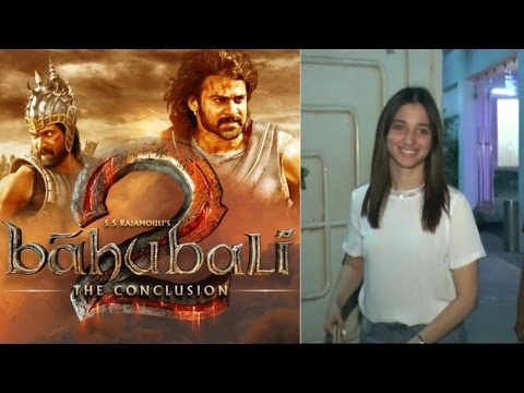 Tamannaah Bhatia Watch Film Baahubali 2: The Conclusion