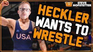 Selfish Heckler Owned for Ten Minutes - Steve Hofstetter