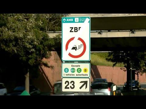Schlechte Luftqualität: Fahrverbot in Barcelona tritt in Kraft