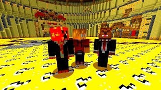 Minecraft LUCKY BLOCK SPLEEF #1 with Vikkstar, JeromeASF, PrestonPlays & CraftBattleDuty