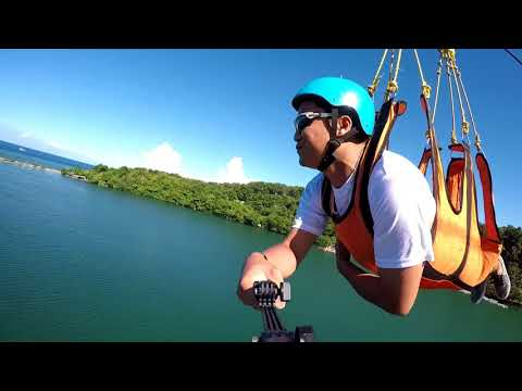 Camiguin zipline (Fly by Wire)