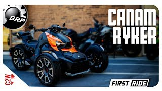 1. 2019 CanAm Ryker Rally Edition | First Ride