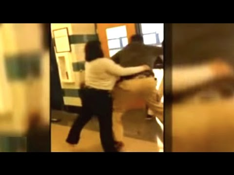 student - A Baltimore teacher was placed on administrative leave and a 17-year-old student was charged with assault after the two brawled in the hallway of Carter Vocational Technical School last Friday....