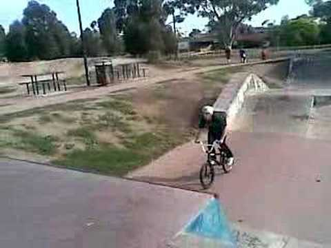 bmx flare to disaster