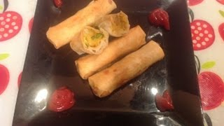 Potato spring rolls in tamil making video-South indian samayal cooking video in tamil