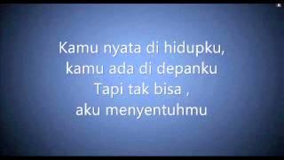 Kamu nyata with Lyrics Acoustic - Izzy - (Ost. D'bijis)