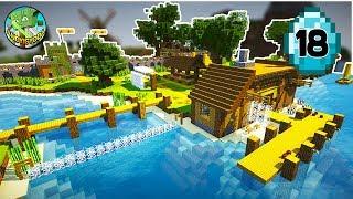 Transform a Minecraft Village into a Town E18 _ Fishing!