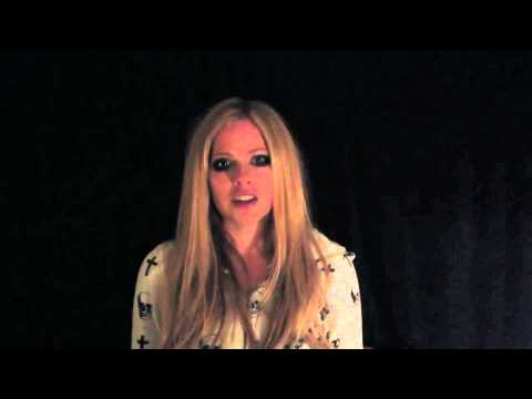 Watch video Down Syndrome: Avril Lavigne Asks You to Take teh R-word Pledge