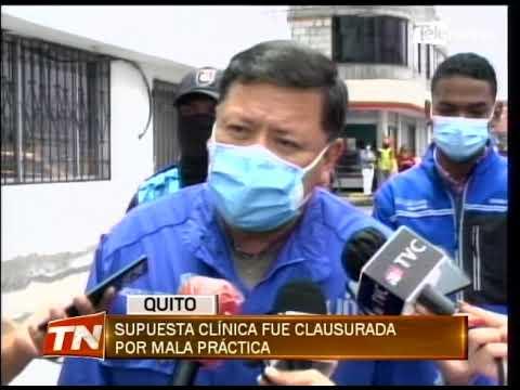 Supuesta clínica fue clausurada por mala práctica