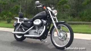 4. Used 2007 Harley Davidson Sportster 883 Custom Motorcycles for sale