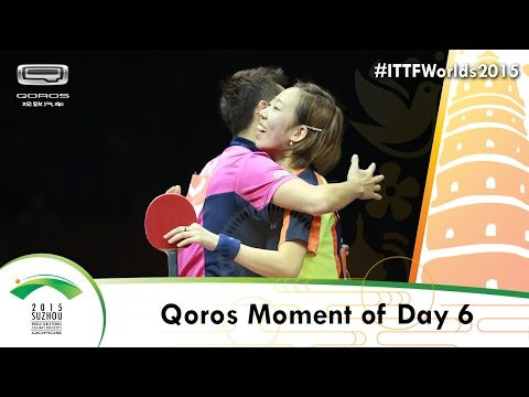 Qoros 2015 World Championships Moment of Day 6