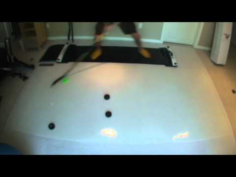 BIG roll-up shooting pad review – How To Hockey