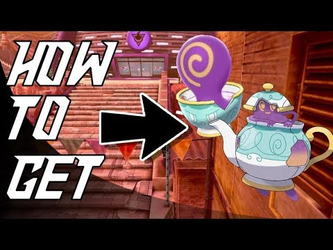How to get SINISTEA / POLTEAGEIST / CRACKED POT in POKEMON SWORD AND SHIELD