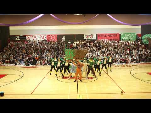 """Wizard Of Oz"" Homecoming Assembly"