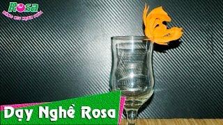 Tỉa trang trí ly - Cách làm đẹp cho thức uống
