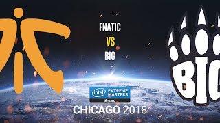 Fnatic vs BIG - IEM Chicago 2018 - bo1 - de_cache [Enkanis]