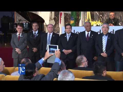 Reportagem: Solenidade de posse da Gestão 2015-2018