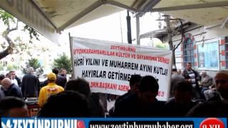 Zeytinburnu Afyon Karahisarlılar Dernek Başkanı Adem Honça 1500 Kişilik Aşure Dağıtı