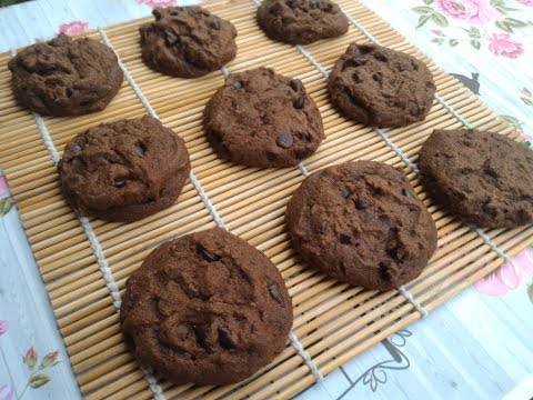 RESEP CHOCOLATE CHIPS COOKIES (SOFT COOKIES)
