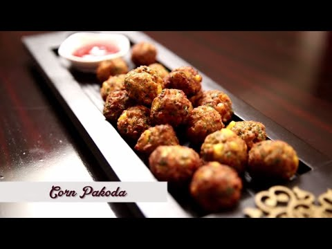 Corn Pakoda | Easy & Quick Tea Time Snack Recipe | Ruchi's Kitchen