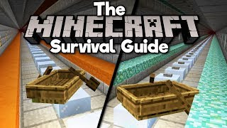 Super Fast Nether Transport! • The Minecraft Survival Guide (Tutorial Lets Play) [Part 90]