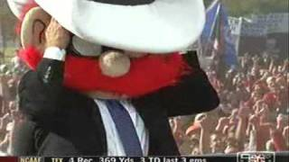 Corso and former Tech basketball coach Bob Knight pick Texas Tech to upset Texas on College Gameday live from Lubbock.