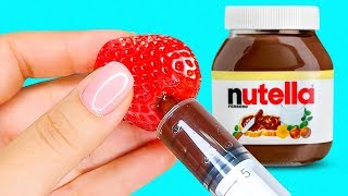 28 TASTY FOOD HACKS YOU CAN EASILY REPEAT