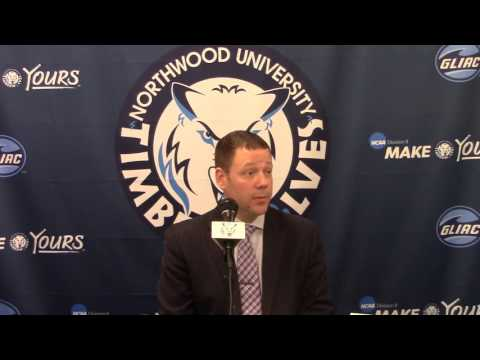 Northwood University Women's Basketball (1/28/16) Michigan Tech 90, NU 69 - Press Conference