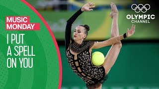 Bronze medal winner Ganna Rizatdinova performs a routine to 'I Put A Spell On You' by Annie Lennox at Rio 2016.Subscribe to the official Olympic channel here: http://bit.ly/1dn6AV5